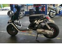 Rare cw50ng moto gp edition or bws yamaha stage 6 unfinished project