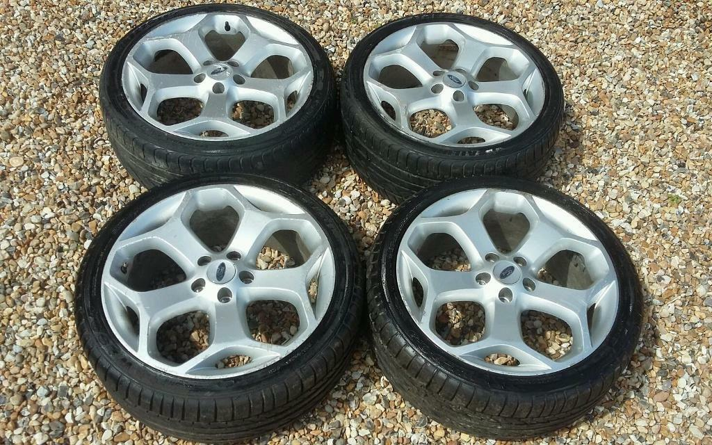 "Focus St 19 Inch Wheels >> 4X Snowflake 18 "" alloy wheels 5x108 fit Ford Focus St Mondeo Connect 