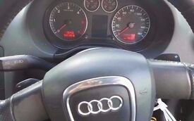 Audi A3, Black colour, 2006 year, Breaking and selling for parts SALE