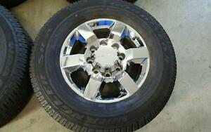 "18"" GMC Sierra 2500 8 bolt wheels tires 265x70x18"