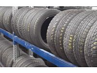 205/50/17 -225/50/17 - part worn tyres / winter tyres in stock / 41 new road rm138dr