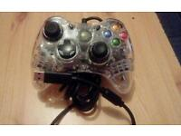 Xbox pad and wireless adapter