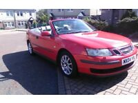 SAAB 9-3 CONVERTIBLE *1.8 T*LONG MOT **TAXED *INSURED *BARGAIN £595 OVNO