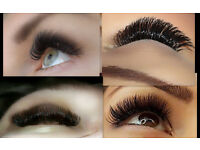 Russian Volume eyelashes extensions-amazingly beautiful eyes, ENFIELD EN1