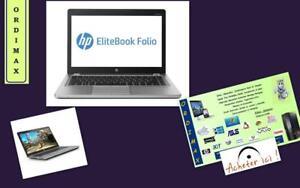 "**ULTRABOOK  Hp FOLIO 9470M  14"" Fast Processeur INTEL  i5  /Disque Dur 180 GB SSD  / 8GB Memoire RAM  Tx Inc"