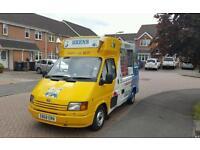 Ford Transit Soft Ice Cream Van !!!!