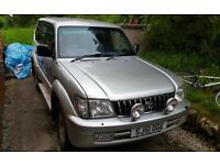 Toyota Landcruiser Colorado GX Spares or Repair.