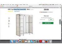 Triple Heavy Duty Covered Rail,Storage Cupboard