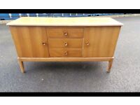 Vintage Mid-Century Walnut Sideboard by Gordon Russell of Broadway,Possible Delivery