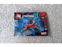 Brand New Sealed Lego Spiderman Spider-Man's Mini Spider Web Robot Crawler Walker Mech 30451 Polybag
