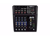 6-CHANNEL COMPACT MIXER - ALTO ZMX 86