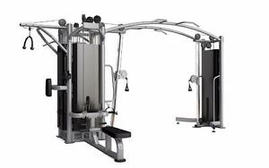 New eSPORT 5-STACK CABLE MACHINE Pulldown and Row Station offer dual cables