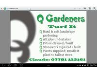 q gardeners.
