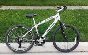 "Mountain Bike For Sale 21-Spd, 24""TIRES, 16""FRM.SCHWINN"