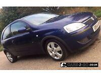 **FULL 1 YEAR MOT** Vauxhall Corsa Energy Twinport 1.0 Petrol Metallic Blue 3 Door