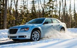 2005-2016 Chrysler 300 Snow Tire Packages starting at $912 - P 215/65/17 and P 225/60/18 Winter Tires