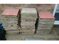 Slabs - 67 assorted 17 1/2 inch square