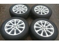 GENUINE 19 RANGEROVER DISCOVERY 3 ALLOYS IMMACULATE VW T5 T6 TRANSPORTER