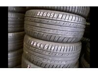 Part worn tyres/ 225x40x18 / 41 new road rm138dr open 7 days a week