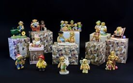 A Selection Of Boxed Cherished Teddies see photos and description