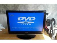 """Technika 22"""" LCD TV with DVD Player"""