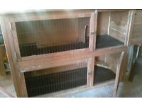 Rabbit hutch made by Rabbit Shack, 2 storey large with ramp