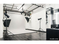 PHOTO STUDIO ONE + LIGTHING EQUIPMENT ### SPECIAL OFFER ### full day or half-day KENTISH TOWN ###