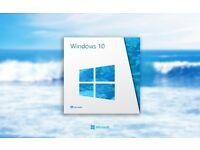 Windows 10 Professional with Key for Clean, repair, fresh Installation