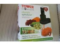 Tower Electric Spiralizer - Brand new