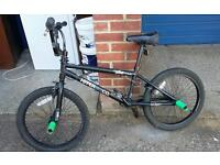 Boys Stunt BMX Bike. 360 degree headset. Delivery available