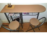 Breakfast Table and 2 Chairs, ONLY £25