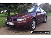Seat Leon S 1.4 16V 5 Door Cherry Red 2002 LONG MOT