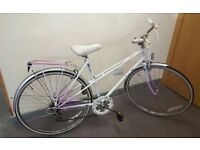 LADIES RALEIGH CANDICE VINTAGE RETRO 6 SPEED FULLY SERVICED EXCELLENT CONDITION