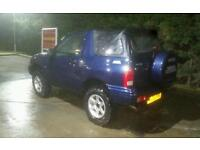Suzuki grand vitara 1.6 16v off road ready may swap p.x !!