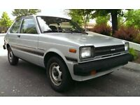 TOYOTA STARLET 2 DOOR RWD KP60-61-62 etc SHELL OR ROLLING SHELL OR COMPLETE NONE RUNNER WANTED