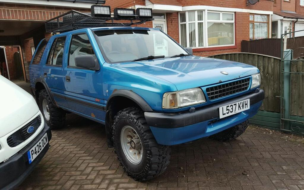 1994 vauxhall frontera 2 3td 4x4 modified off road in rotherham south yorkshire gumtree. Black Bedroom Furniture Sets. Home Design Ideas