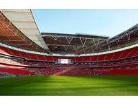 Wembley Stadium Events day night worker