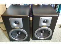 Tapco by Mackie S5 Active Studio Monitors Speakers