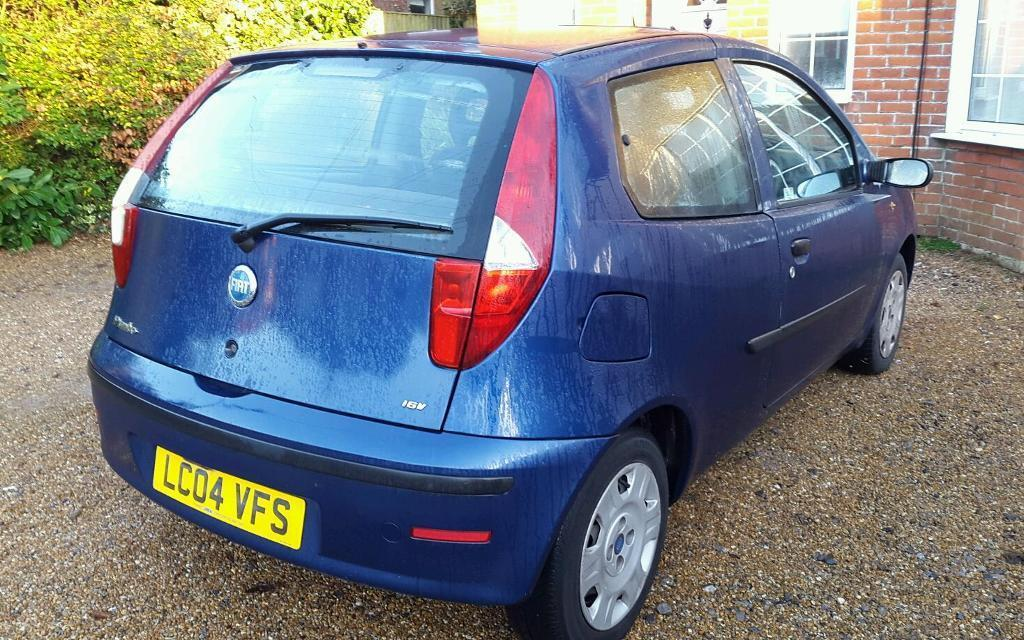 fiat punto 2004 in southampton hampshire gumtree. Black Bedroom Furniture Sets. Home Design Ideas