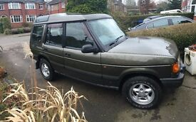 Land Rover Discovery 2.5TDi Auto Green £££'s spent