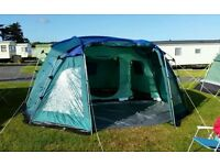 pro action 8 man family tent