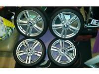"""BMW F20 18 """" alloy wheels x4"""