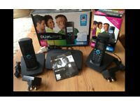 REDUCED : Skype internet twin phone system. Quick easy calls-no computer! REDUCED