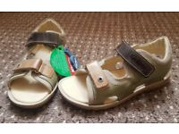 "Boys ""Kickers"" sandals size 12.5-13 uk - new no box"
