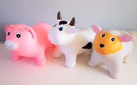 Sit & Ride Animal Inflatable play soft fun NEW boxed