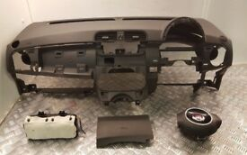 2011 FIAT 500 AIRBAG KIT COMPLETE *NO SEATBELTS* #8495