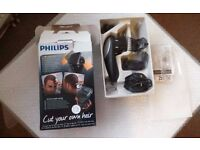 Philips QC5570 DIY Hair Clipper with Rotating Head new boxed £25