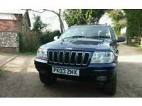 2003 Jeep Grand Cherokee. 2.7 crd. 91700 miles FSH (10stamps)