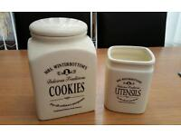 Cookie and utensil set.