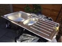 Blanco Tipo - Stainless Steel - 1.5 Bowl Sink - New / Unused